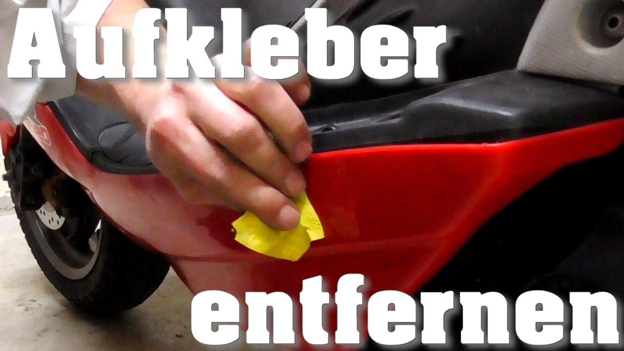 Lästige Aufkleber Ganz Einfach Entfernen Aprilia Sr50 Sport Pro Ditech