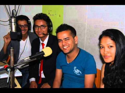 """Leo in change"" with young scientist  Kshitij Raj Lohani .."