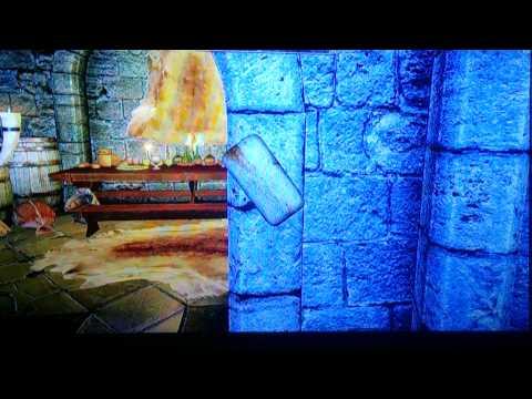 Skyrim college of winterhold wall glitch