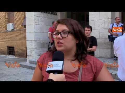 Test di medicina a Roma, gli studenti dopo la prova