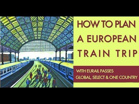 How To Plan A European Train Trip