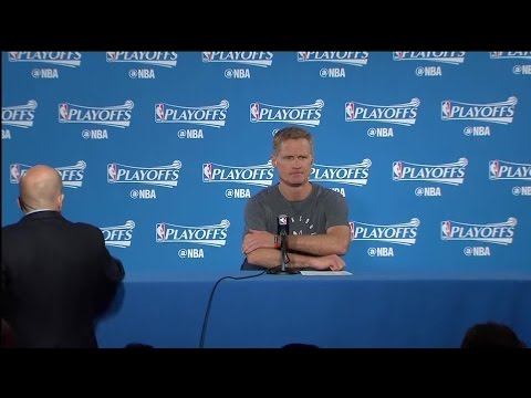 Steve Kerr Press Conference Following Game 2 Win