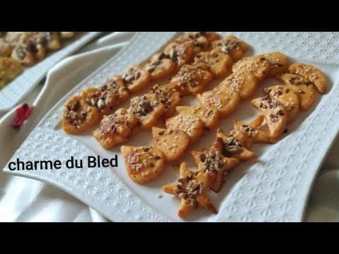 #مملحات-راقية-بأشكال-مختلفة-ونكهات-مختلفة-من-نفس-العجين-بمذاق-مميز-biscuit-snacks/#bscuit-salé#