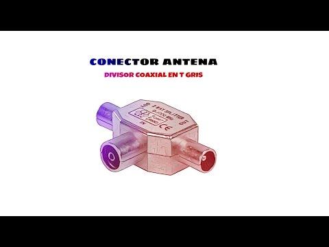 Video de Divisor coaxial en T  Gris