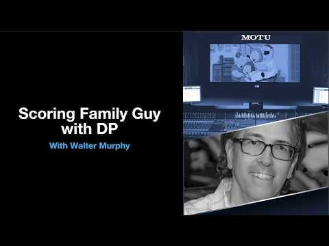MOTU at NAMM 2019: Scoring Family Guy with Walter Murphy