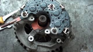 Ремонт генератора  Toyota