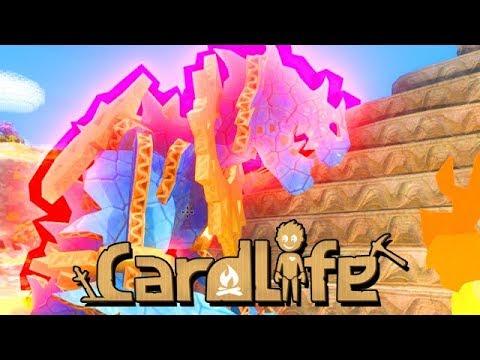 Wir jagen Dinos  CardLife Gameplay German
