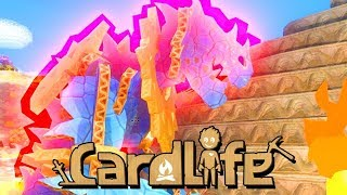 Wir jagen Dinos - CardLife Gameplay German