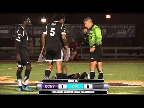 2015 CUNYAC Men's Soccer Championship Game: CCNY vs CSI