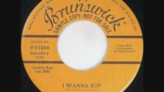 BILLY HARLAN I WANNA BOP