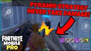 Pro Fortnite Mobile Player | The Pyramid Strategy! Build Battles | Snipes | And Highlights