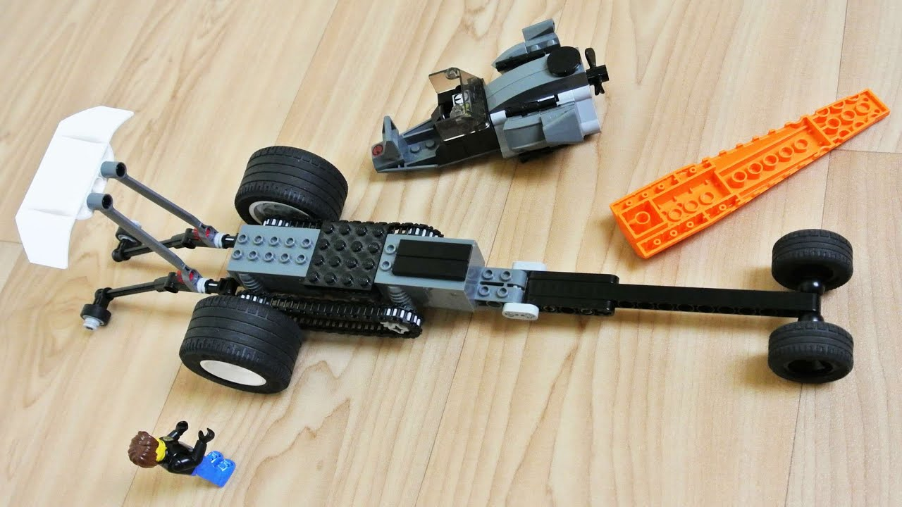 How To Build The Top Fuel Dragster Lego Toy Youtube