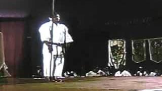 Sensei Oshiro, Breaks Bo, Yamanni Ryu