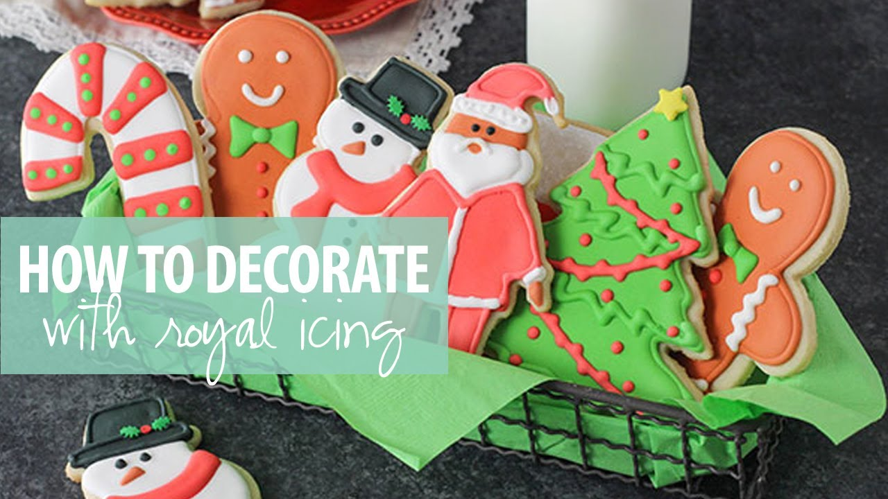 How To Decorate Cookies With Royal Icing Like A Pro Easy