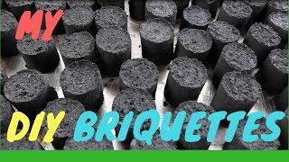 DIY Charcoal Briquettes