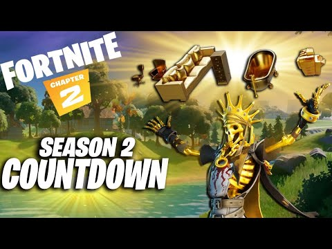 FORTNITE ( v12.0 ) CHAPTER 2 SEASON 2 COUNTDOWN LIVE ( TEASERS , LEAKS , NEWS AND UPDATES )