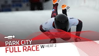 Park City | BMW IBSF World Cup 2017/2018 - Women's Skeleton Heat 2 | IBSF Official