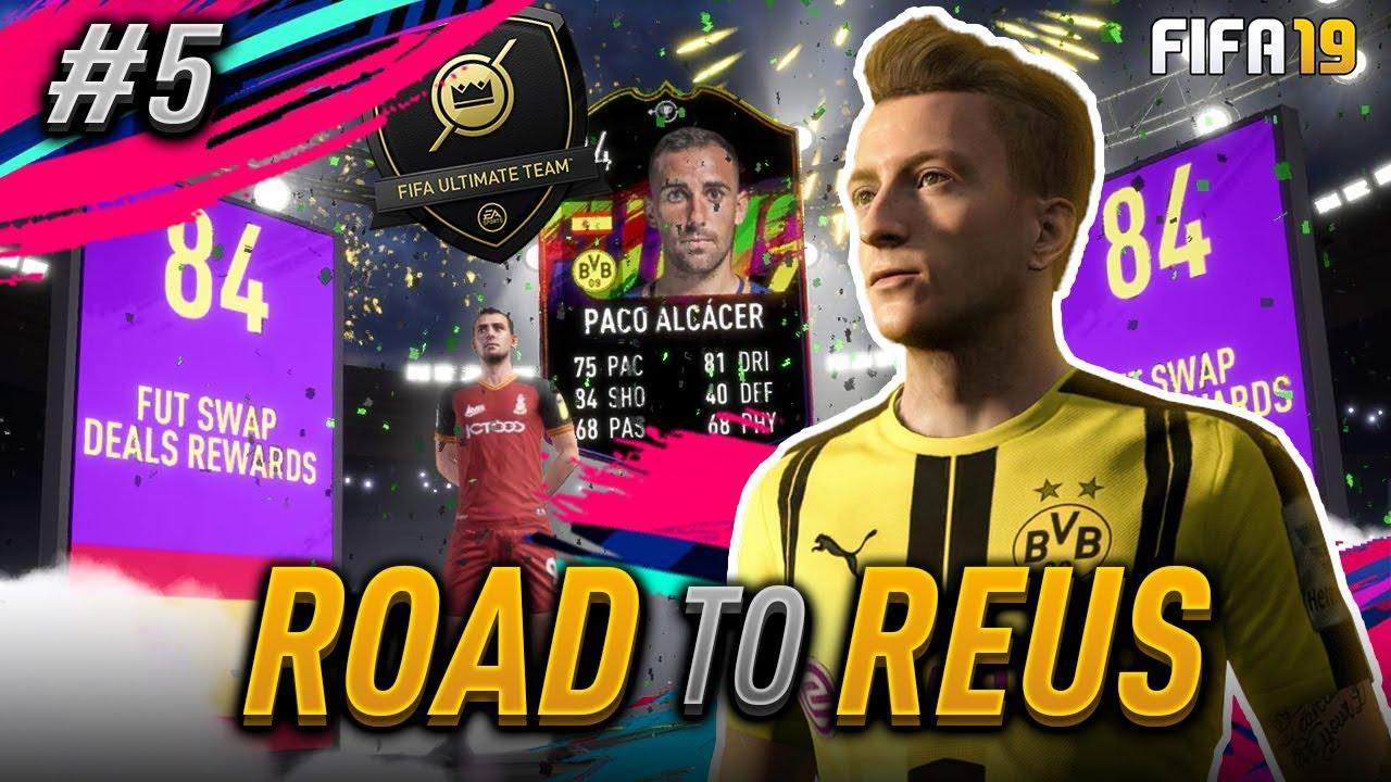 Fut Swap Paco Alcácer Unlocked Fifa19 Road To Reus 05 No