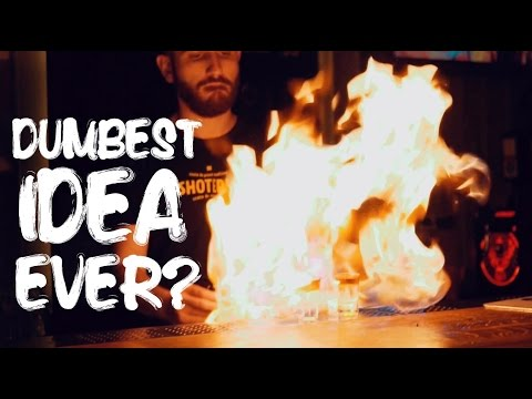 SHOT BAR ON FIRE IN BUCHAREST! // VLOG