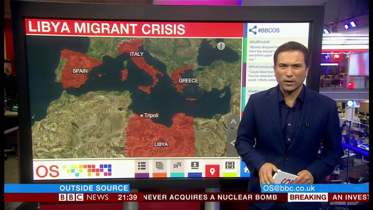 Migrant Crisis (Libya) - BBC News - 26th September 2018