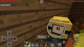 Minecraft pe sobrevivência com Minions #10