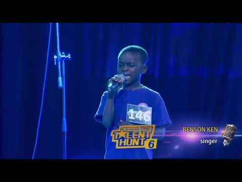 10 year old boy singing in a Talent Hunt and The Holy Ghost took over    YouTu