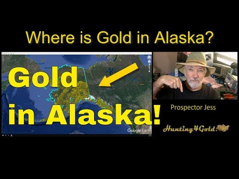 Where Can I Find Gold In Alaska? (USGS MRDS Gold Map Summary)