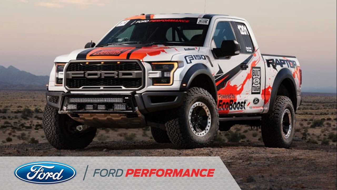 The ford f 150 raptor returns to the baja 1000 f 150 raptor ford performance