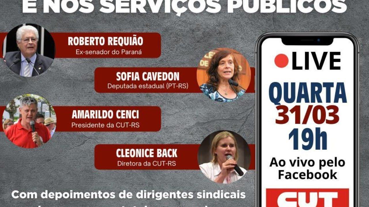O golpe das privatizações, e nos serviços públicos - CUT RS