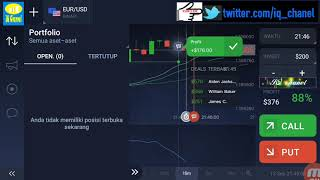 profit 100% just use smartphone and ATR indicator || original win-iq option strategy