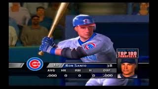 MVP Baseball 2005 PS2 All Tme Chicago Cubs vs All Time Chicago White Sox