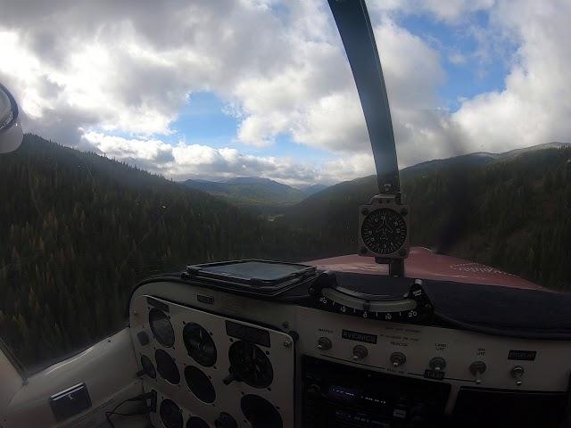 Landing at Cayuse Creek