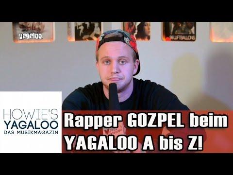 Rapper GOZPEL mit dem YAGALOO A-Z