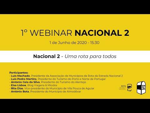 1º Webinar NACIONAL 2 - Uma estrada para todos from YouTube · Duration:  1 hour 6 minutes 14 seconds