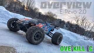 Inside my Traxxas E-Revo 2.0 | Overkill RC Overview | 2019 | Overkill RC