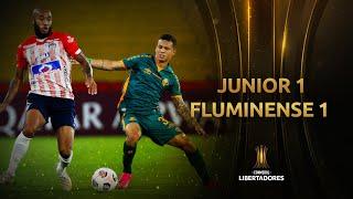 Junior vs. Fluminense [1-1]   RESUMEN   Fecha 3   CONMEBOL Libertadores 2021