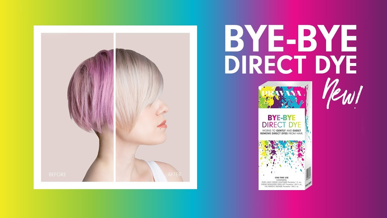 0b676afa69 PRAVANA | Remove Hair Color with NEW Bye Bye Direct Dye - YouTube