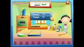 Chơi game làm bánh mì nướng thơm ngon - Game nau an cooking
