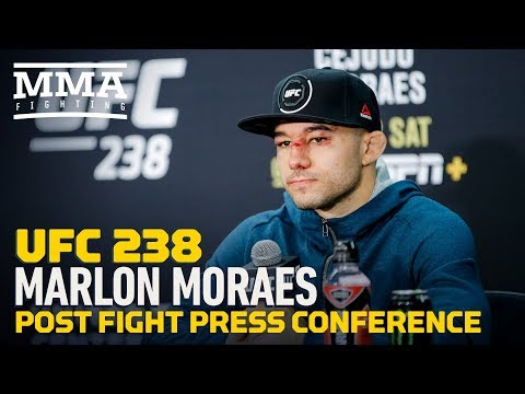 UFC 238: Marlon Moraes Post-Fight Press Conference - MMA Fighting