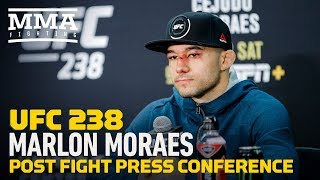 UFC 238: Marlon Moraes Post-Fight Press Conference - MMA Fighting