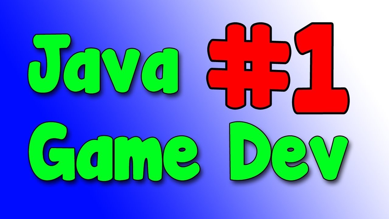 Java game development 1 starting up our project youtube baditri Gallery