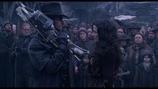 Народ не доволен смертью вампира. Анна произносит имя человека убившего вампира. HD