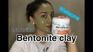 Bentonite clay review (watsons)+onting kwentuhan | Worth it ba to?? | level up!
