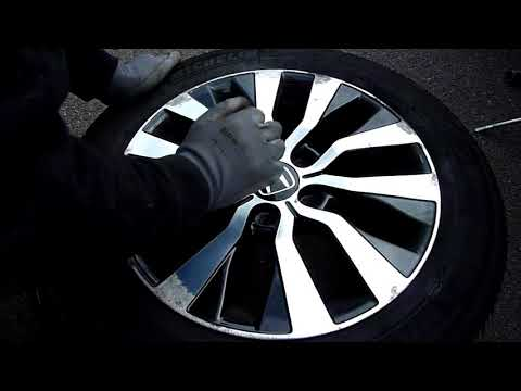 How to Refurbish Curb Rashes on Your Alloy Wheels