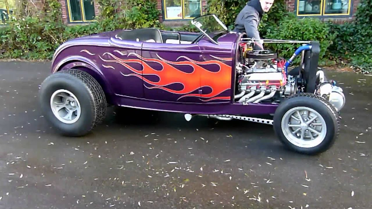 32 39 er ford deuce roadster hot rod 351 cleveland stroker 393 build by usa engines bv youtube. Black Bedroom Furniture Sets. Home Design Ideas