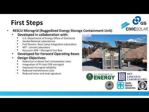 Energy Storage for Puerto Rico: Modular Solutions for Disaster Recovery (12.12.2017)