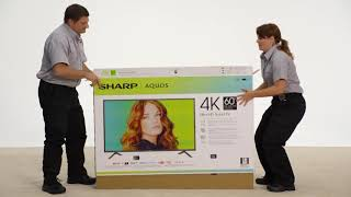 How to Safely Unbox Your Sharp TV – Best Buy