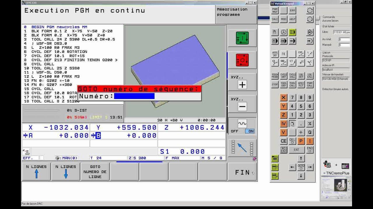simulateur heidenhain itnc 530