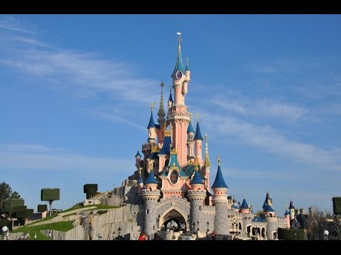 sleeping beauty castle walkthrough hd disneyland paris