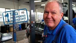 1 Tag in Jürgens Werkstatt - Teil 3 | Software lässt ein Bremslicht leuchten & ein geladener Benz